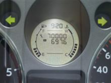 祝70,000km!