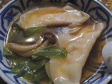 今夜は★ 日ハム・海鮮スープ餃子