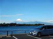沼津大瀬崎からの富士山