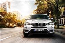 購入寸前・・・。BMW X3 20d