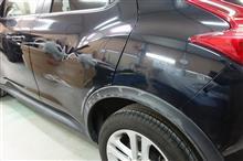 『日産 ジューク 板金・塗装・修理』 東京都立川市内からご来店のお客様です。