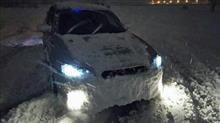 吹雪の中で輝いて~2017オートサロン日帰り強行軍~
