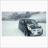 雪ドライブ!