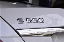 ベンツ S550 (W222)コーディング&Pedalbox装着
