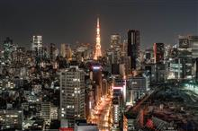 Night shooting in TOKYO