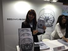 東京オートサロンBBSブース…