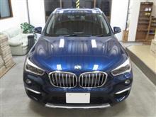 BMW X1(2代目)、採寸&装着確認(完成)