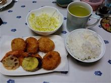 フライの夕食