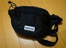 ブリーフィング(BRIEFING)RQスリングバッグを購入。日本生産の新シリーズ?