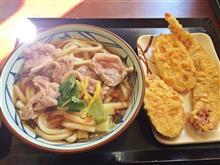 丸亀製麺へ