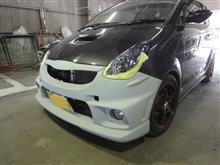 R1 フロントバンパー FRP割れ 修理 塗装 愛知県豊田市 倉地塗装 KRC