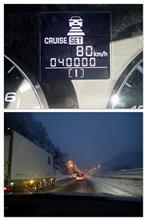 40,000kmを通過