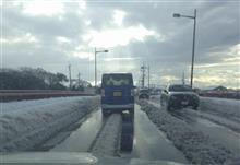 彦根辺りの積雪