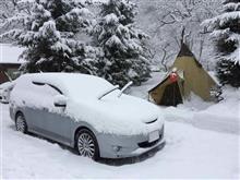 雪中キャンプ行って参りました