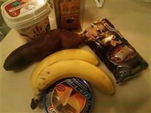 バナナとコーヒー(笑)