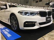 BMW 新型5シリーズ(G30)を発見!