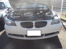 BMW E61 525i 水漏れ ラジエター 5シリーズ ABA-NL25