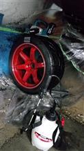タイヤを削る心意気。ただ、無心に。