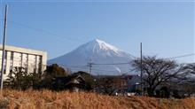 2017/1/29 今日の富士山