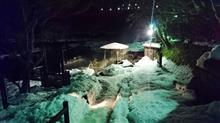 雪を見ながらの混浴露天風呂~。:.゚ヽ(´∀`。)ノ゚.:。
