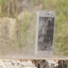 iPhoneをピストルで撃って見た
