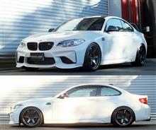 BMW M2 F87 車高調 『 Best☆i 』 開発完了です!!