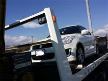 東名高速SAでのパンク…。助かりました。