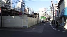 (仮称)新綱島駅工事進捗中