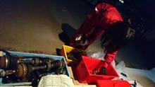 部品取り車が急遽、ドナドナされるため、部品庫入庫処理。