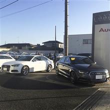 Audi S4 & New S3イッキ乗り (※Golf Rも乗ったらしい)