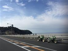 雨予報なのに江の島まで(≧∇≦)