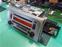 122001-69600101。ダイハツ純正、CD/MDレシーバー。