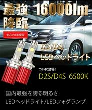 D2/D4 LEDヘッドライトのモニターキャンペーン♪