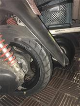 スクーターのタイヤ