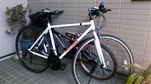 実は今回の病気発覚はこのクロスバイク自転車のおかげだと思ってるのだよ(笑)