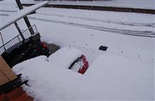 FIT3車検。 水戸の大雪3年ぶりとか??