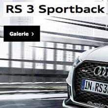 RS 3 Sportback本国サイトに現る!! ちょい比較しますよ〜