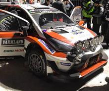 TOYOTA WRC復帰  2戦目にして、表彰台の頂点へ!!