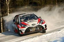 トヨタ、WRC復帰2戦目となるラリー・スウェーデンで復帰後初優勝! ( ・ g・)うそーん