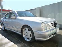 【AMG E55】久々に洗車した。