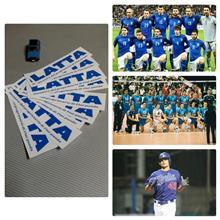 azzurro(青)×bianco(白)