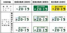 軽自動車登録のまま白ナンバー化
