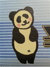 謎のパンダ!!降臨Σ(; ゚Д゚)ウハッ