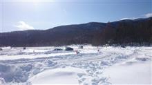 明日の八千穂レイク氷上走行会は開催致します!
