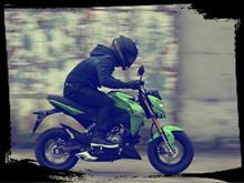 次は次男の通学用バイク…