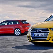 前回の続きで、New Audi A3, S3, RS3全部比較するよ〜