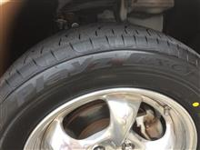 タイヤ交換なのです♪