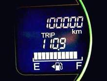 まずは10万キロ達成。