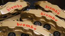 『brembo』🔥彫り文字加工🔥&オ-バ-ホ-ル♪