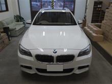 BMW 5シリーズ ツーリング(F11)、採寸&装着確認(完成)